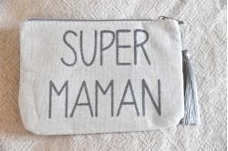 """Pochette """"Super maman"""""""
