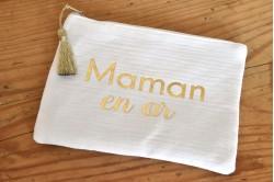 "Pochette ""Maman en or"""